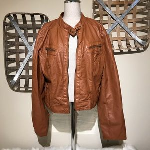 Therapy by Lane Crawford Faux Leather Jacket
